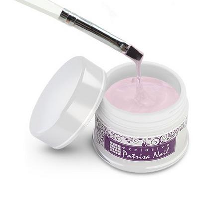 Patrisa nail, Вискозный гель для биоламинирования ногтей, прозрачно-розовый, 15 гр от KRASOTKAPRO.RU