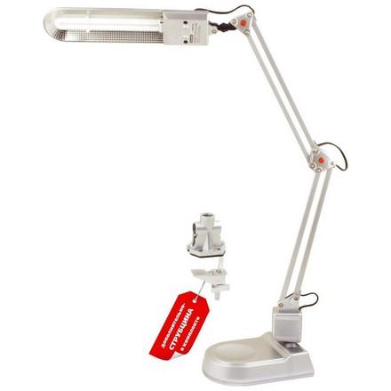 Купить Camelion, Настольная лампа KD-017A C03, серебряная