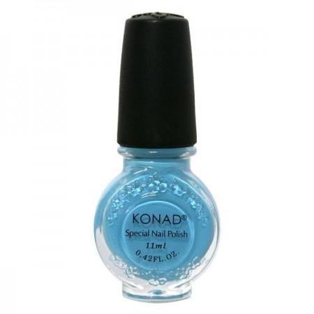 Konad, лак для стемпинга, цвет Pastel Blue 11 ml (пастельный синий) повседневный лак konad regular nail polish konad psyche green