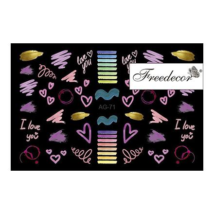 Купить Freedecor, Слайдер-дизайн «Аэрография» №71