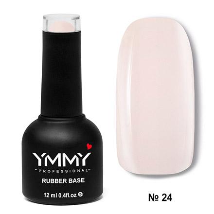 YMMY Professional, База для гель-лака Rubber №024, Бежевый  - Купить