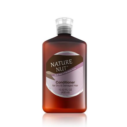 Купить Nature Nut, Кондиционер для сухих и поврежденных волос, 400 мл