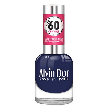 Купить Alvin D'or, Лак «60 секунд» №32, Синий