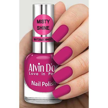 Купить Alvin D`or, Лак Misty shine №542, Alvin D'or, Розовый