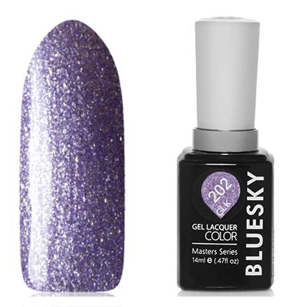 Купить Bluesky, Гель-лак Masters Series «Звездное небо» №202, Фиолетовый