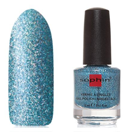 Купить Sophin, Лак для ногтей №0375, Cinderella, Синий