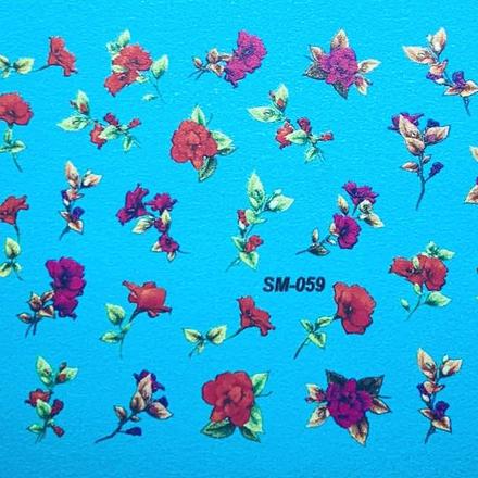 Anna Tkacheva, Cлайдер SM №59 «Цветы. Цветочки» фото