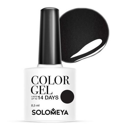 Купить Solomeya, Гель-лак №60, Perfectly Black, Wella Professionals, Черный