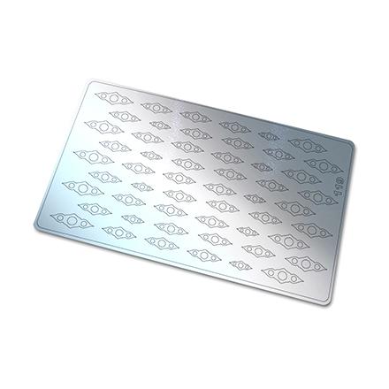 Купить Freedecor, Металлизированные наклейки №119, серебро