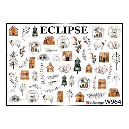Купить Eclipse, Слайдер-дизайн для ногтей W №964