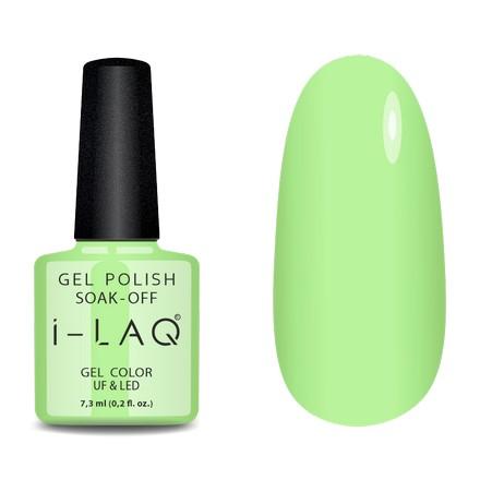 Купить I-LAQ, Гель-лак №160, Зеленый