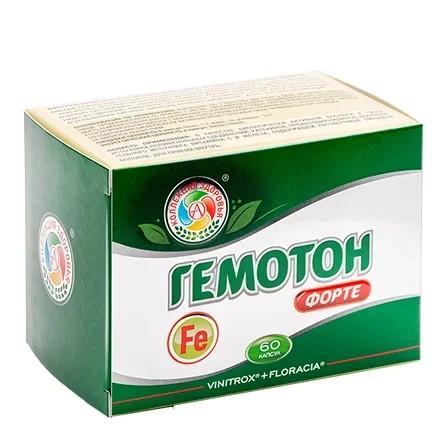 Купить Академия-Т, Железо Gemoton Forte, 60 капсул