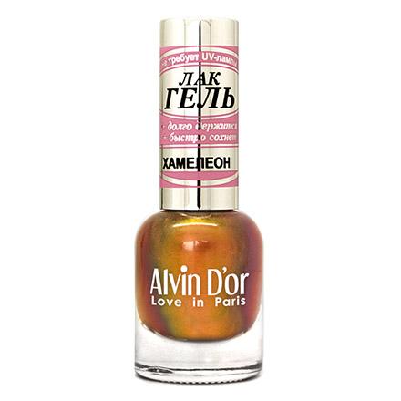 Alvin D'or, Лак-гель «Хамелеон» №4026 золотого цвета