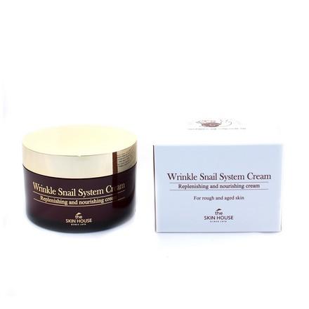 The Skin House, Антивозрастной улиточный крем, 100 млКремы для лица<br>Разглаживающий крем для лица. Может использоваться в качестве ночного ухода.