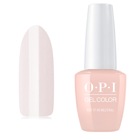OPI GelColor, Гель-лак Put It in Neutral