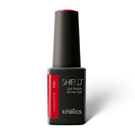 Купить Kinetics, Гель-лак Shield №021, 15 мл, Красный