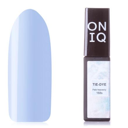 Купить ONIQ, Гель-лак Tie-dye №168s, Pale heavenly, Синий