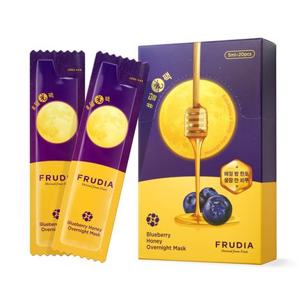 Frudia, Ночная маска для лица Blueberry Honey, 20x5 мл chi luxury black seed oil curl defining cream gel
