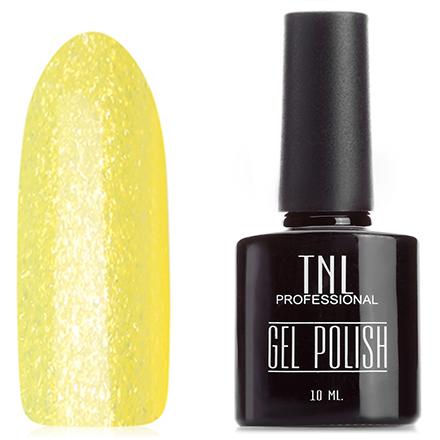 Гель-лак TNL, Цвет №062 Мерцающий желтый (TNL Professional)