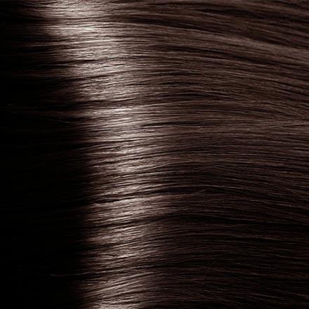 Kapous, Крем-краска для волос Hyaluronic 5.81, светлый коричневый шоколадно-пепельный, 100 мл краска для волос kapous professional hyaluronic acid hair color серебро