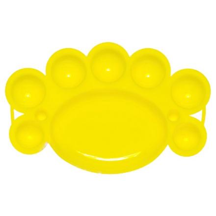 IRISK, Палитра для краски, 8 ячеек, Желтая