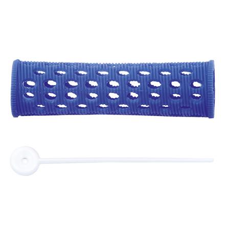 Dewal, Бигуди пластиковые, синие, 20 мм фото