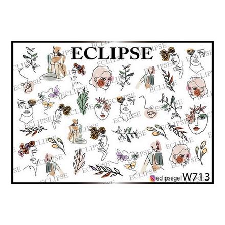 Купить Eclipse, Слайдер-дизайн для ногтей W №713