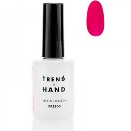 Купить Trend&Hand, Гель-лак Neon Demon №12203, Nega, Trend&Hand Professional, Розовый