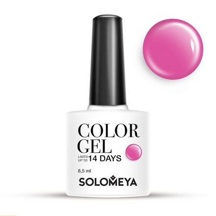 Купить Solomeya, Гель-лак №08, Shelly, Wella Professionals, Розовый