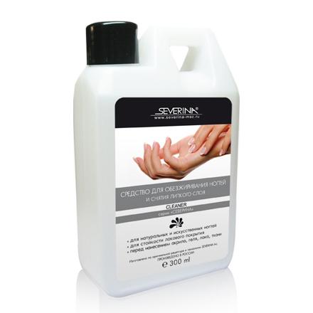 Severina Professional, Жидкость для обезжиривания и снятия липкого слоя Cleaner, 300 мл