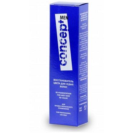 Concept, Средство для восстановления цвета седых волос. Темно-русый, 60 мл
