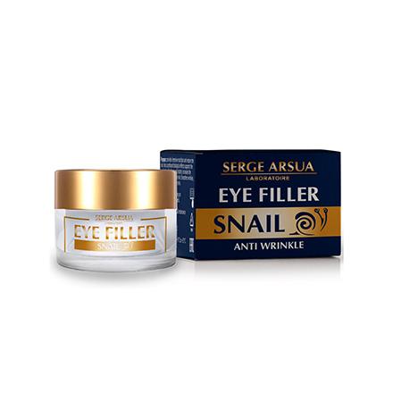 Serge Arsua, Филлер вокруг глаз  Snail, 15 млДля кожи вокруг глаз<br>Гель с муцином улитки против старения кожи вокруг глаз.