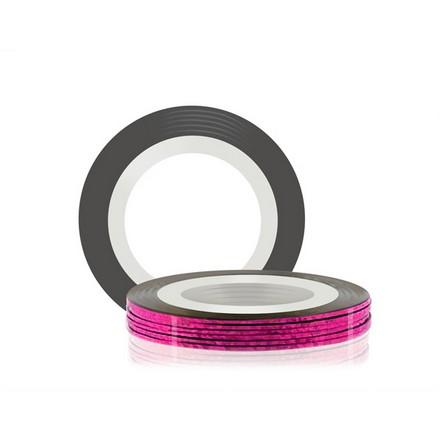 Купить RuNail, Самоклеющаяся лента для дизайна ногтей, розовая, 20 м