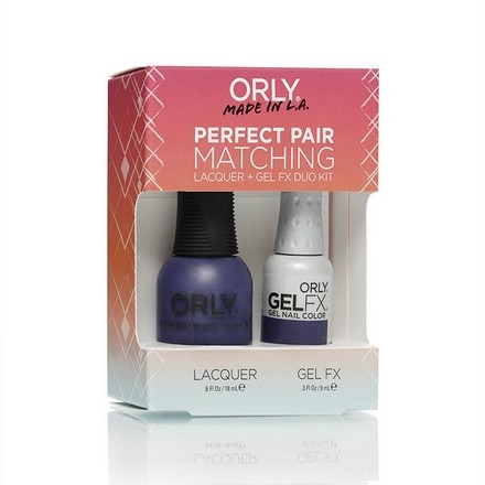 ORLY, Набор PERFECT PAIR LACQUER/GEL DUO KIT, 14 Charged Up