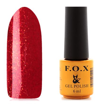 Купить FOX, Гель-лак Pigment №031, F.O.X, Красный