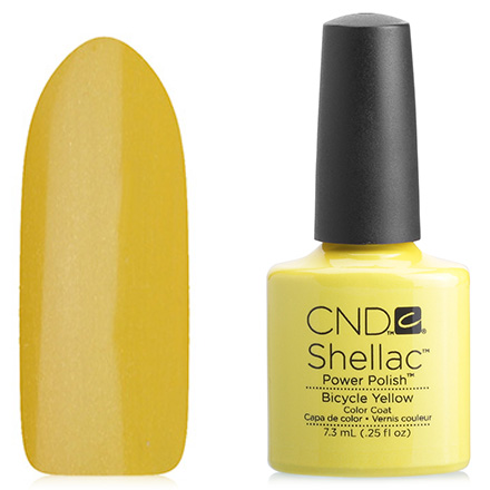 Купить CND, цвет Bicycle Yellow, CND (Creative Nail Design), Зеленый
