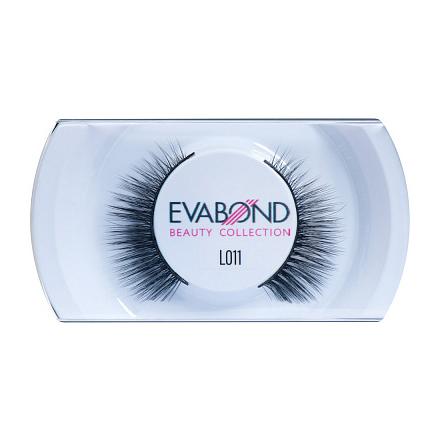 Купить EVABOND, Ресницы накладные L011, черные