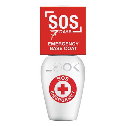 NailLOOK, База для лака SOS Emergency, 8,5 мл фото