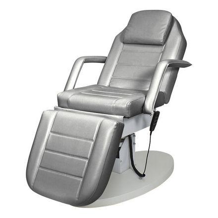 Купить Мэдисон, Косметологическое кресло «Элегия-03», серебряное