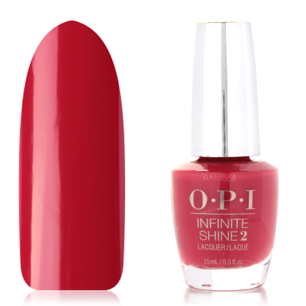 OPI, Infinite Shine Nail Lacquer, Relentless Ruby, 15 мл