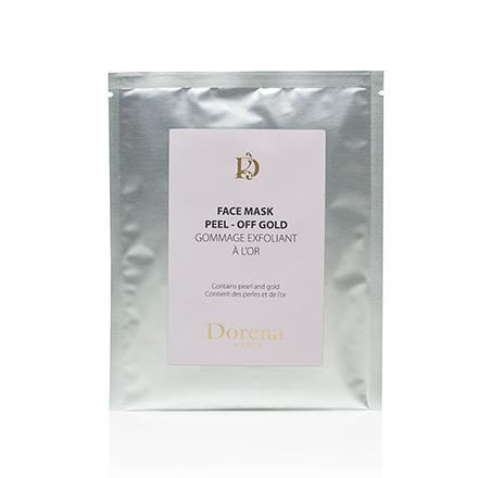 Dorena, Альгинатная маска для лица Peel-off Gold, 30 г