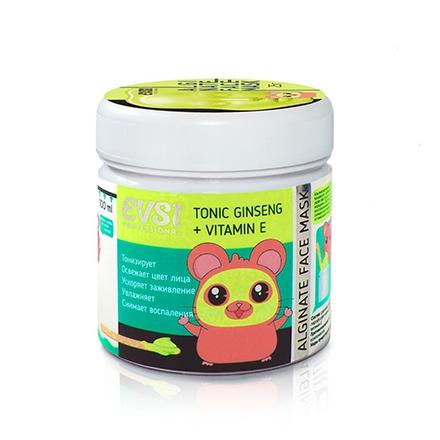 Купить EVSI, Альгинатная маска для лица Tonic Ginseng+Vitamin E, 25 г