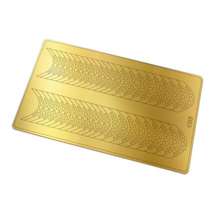 Freedecor, Металлизированные наклейки №136, золото фото