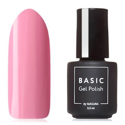 Купить Masura, Гель-лак Basic №294-442М, Розовый закат