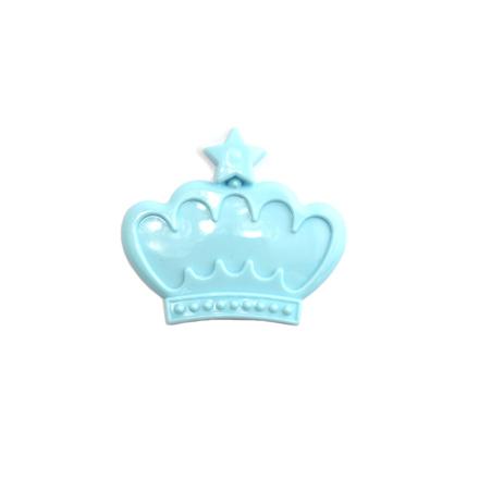 TNL, Рамочка для типс корона, голубая