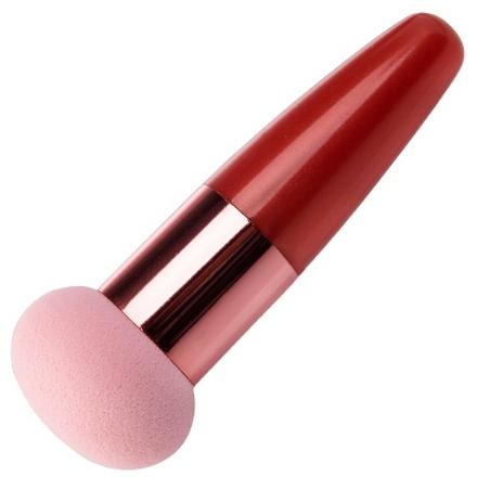 Irisk, Beauty Sculptor, Кисть-спонж для макияжа шаровидная (оранжевая) (IRISK)