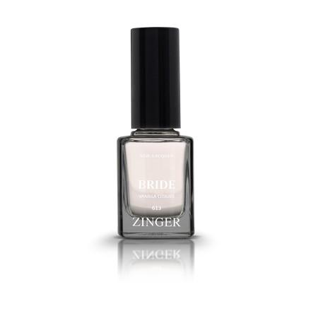 Zinger, Лак для ногтей Bride, цвет Vanilla clouds