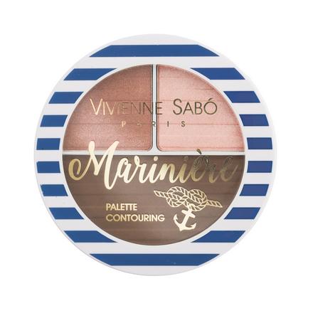 Купить Vivienne Sabo, Палетка для скульптурирования лица Mariniere, тон 01
