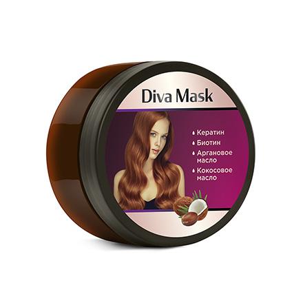 Купить Diva Hair, Маска для волос, 200 мл