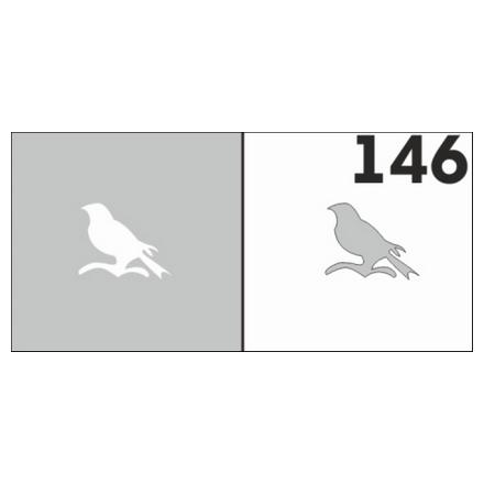 Airnails, Трафареты №146Трафареты для маникюра<br>Набор многоразовых клеевых трафаретов для аэрографии на ногтях из высокоэластичной пленки.<br>